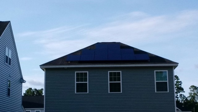 Clean Solar Installation in Charleston SC